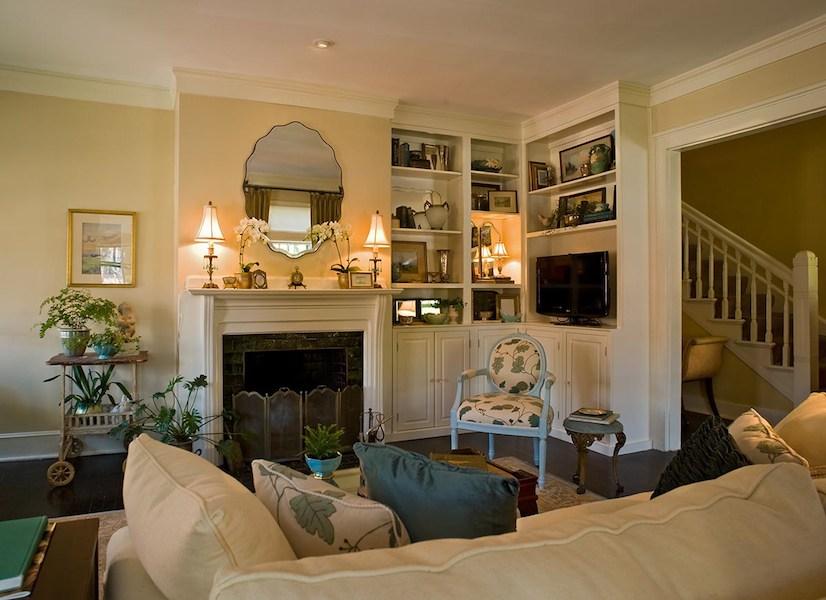 Historic Hartford Remodel Living Room 2